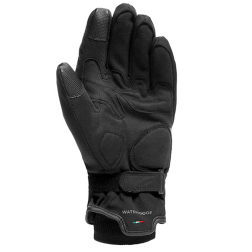 DAINESE AVILA UNISEX D-DRY BLACK/ANTHRACITE GLOVES WINTER WP