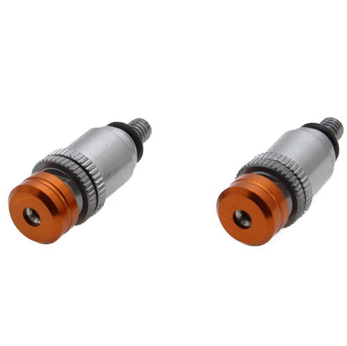 ZETA ZE91-4107 ORANGE FORK BLEEDERS FOR KTM