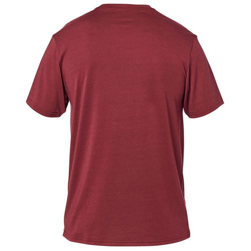 FOX CREST SS TECH CRANBERRY TEE