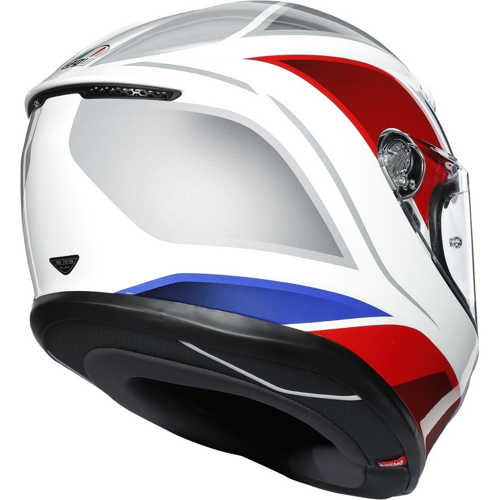 AGV K6 HYPHEN WHITE/RED/BLUE HELMET FULL FACE