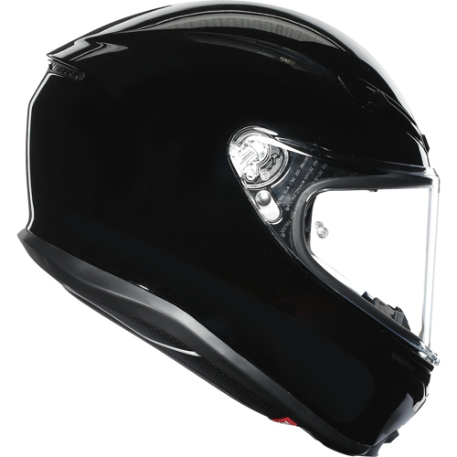 AGV K6 BLACK HELMET FULL FACE