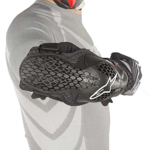 ALPINESTARS SEQUENCE BLACK ELBOW GUARDS