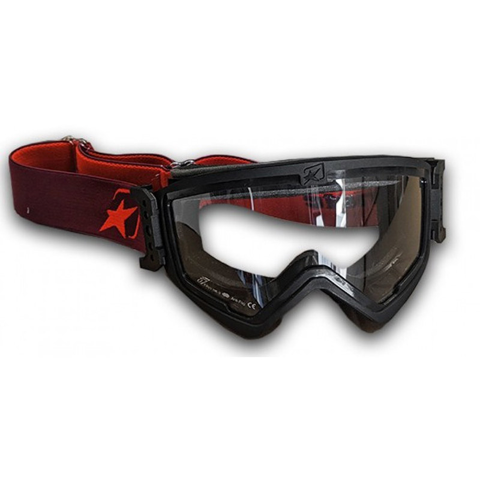 ARIETE MUDMAX EASY_ 14940-ENNR BLACK/RED GOGGLES MX