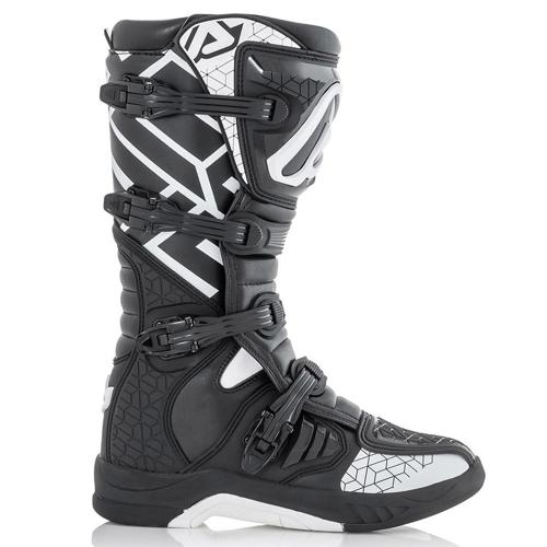 ACERBIS X-TEAM BLACK/WHITE BOOTS MX