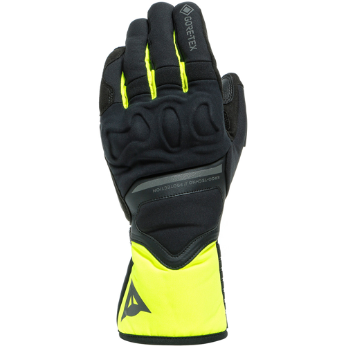 DAINESE NEMBO GORE-TEX + GORE GRIP TECHNOLOGY BLACK/FLUO YELLOW GLOVES WINTER WP