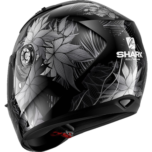 SHARK RIDILL NELUM BLACK/SILVER/ANTHRACITE HELMET FULL FACE