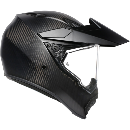 AGV AX9 MATT CARBON HELMET ON-OFF