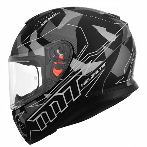 MT THUNDER 3 SV STEALTH A2 MATT GREY HELMET FULL FACE