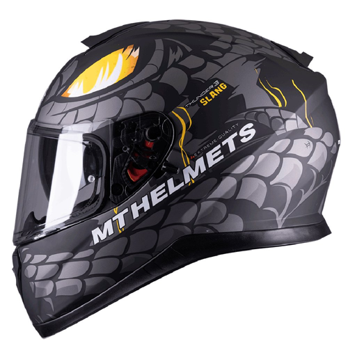 MT THUNDER 3 SV SLANG A2 MATT GREY HELMET FULL FACE