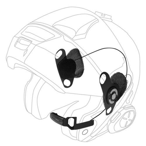 INTERPHONE DEDICATED AUDIO KIT FOR SHOEI HELMETS