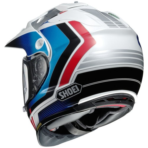SHOEI HORNET ADVENTURE SOVEREIGN TC-10 HELMET ON-OFF