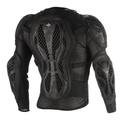 ALPINESTARS BIONIC ACTION BLACK/RED GUARD CHEST MX
