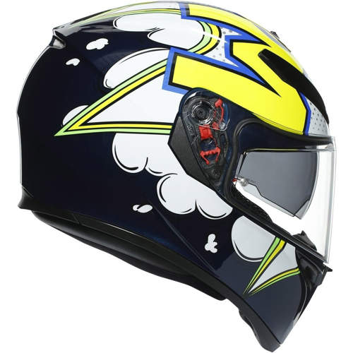 AGV K-3 SV PIN MAX MULTI BUBBLE HELMET FULL FACE