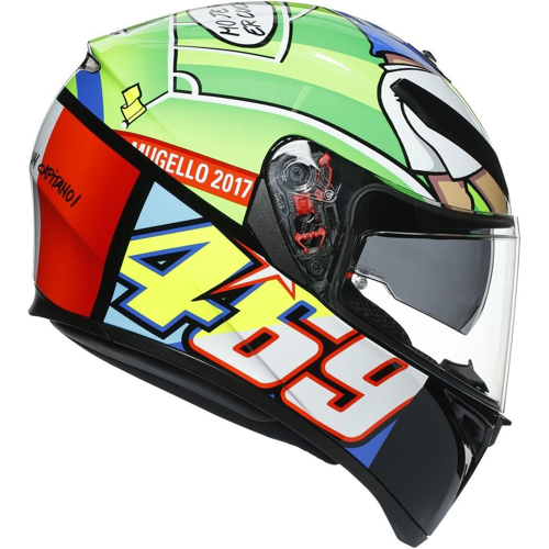AGV K-3 SV PIN MAX TOP ROSSI MUGELLO 2017 HELMET FULL FACE