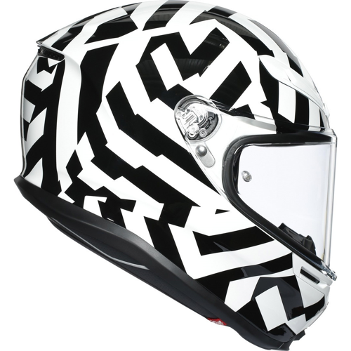 AGV K6 SECRET BLACK/WHITE HELMET FULL FACE