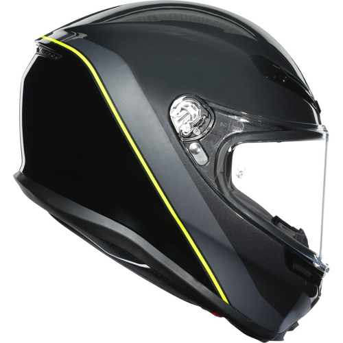 AGV K6 MINIMAL GUNMET/BLACK/YELLOW FLUO