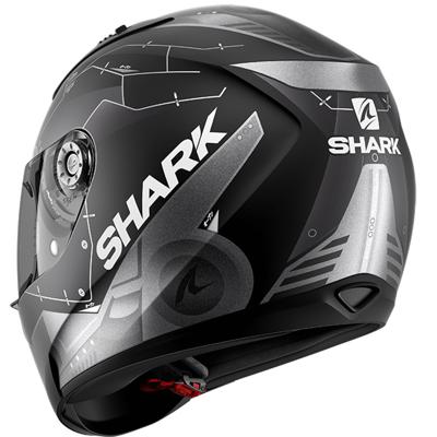 SHARK RIDILL MECCA BLACK MATT HELMET FULL FACE