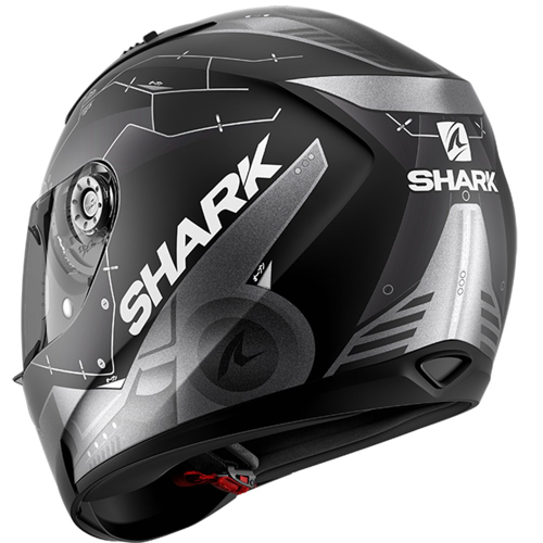 SHARK RIDILL MECCA BLACK MATT HELMET FULL FACE