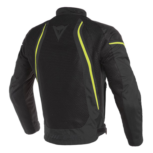 DAINESE AIR CRONO 2 TEX JACKET BLACK/BLACK/FLUO-YELLOW JACKET SUMMER