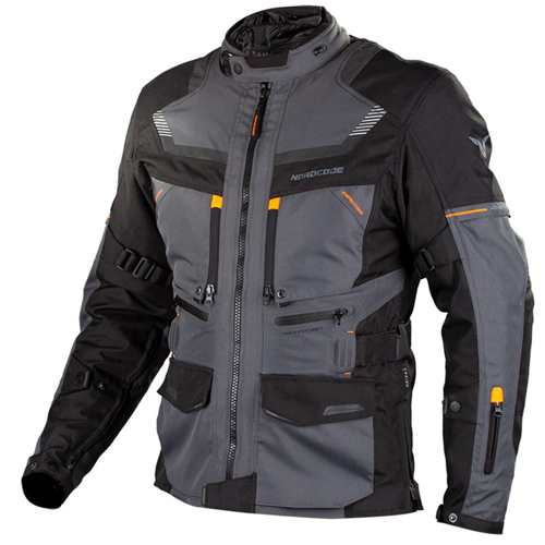 NORDCODE ADVENTURE EVO 4 SEASON JACKET DARK GREY/ORANGE JACKET WP 4-SEASON