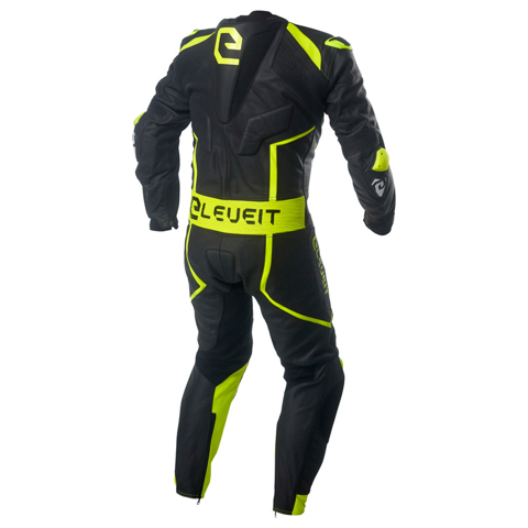 ELEVEIT RC PRO NEW BLACK/YELLOW LEATHER SUIT