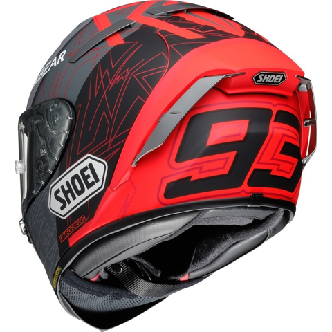 SHOEI X-SPIRIT III MARQUEZ BLACK CONCEPT 2 TC-1 HELMET FULL FACE