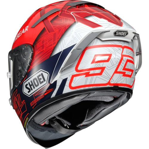 SHOEI X-SPIRIT III MARQUEZ 6 TC-1 HELMET FULL FACE