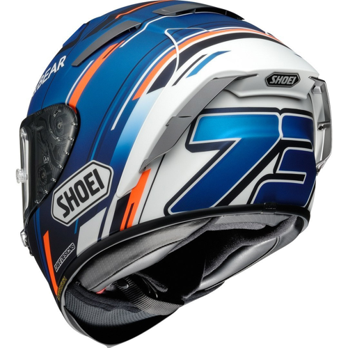 SHOEI X-SPIRIT III MARQUEZ AM73 TC-2 HELMET FULL FACE