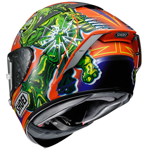 SHOEI X-SPIRIT III RUSH TC-8 HELMET FULL FACE