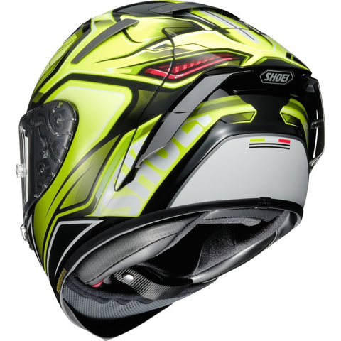 SHOEI X-SPIRIT III AERODYNE TC-3 HELMET FULL FACE