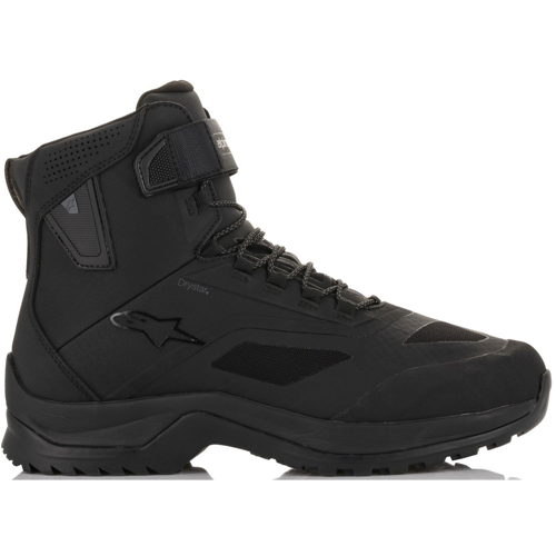 ALPINESTARS CR-6 DRYSTAR BLACK RIDING SHOES