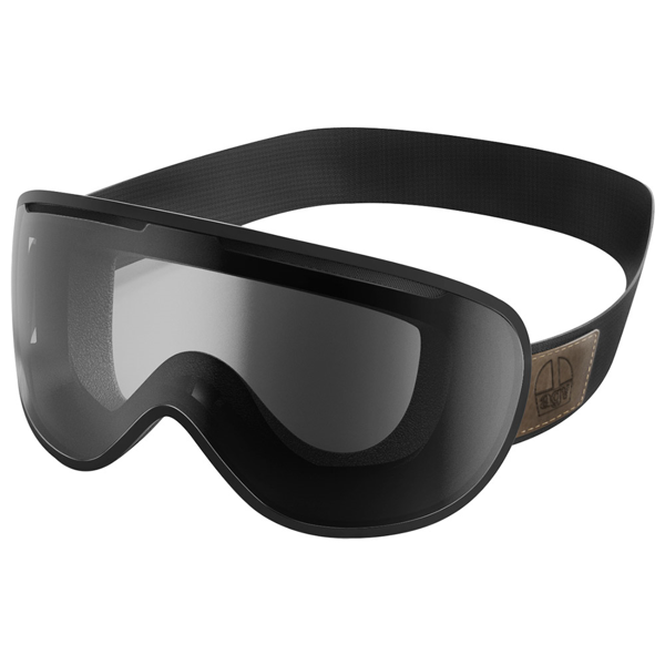 AGV GOGGLES LEGENDS AS/AF BLACK/CLEAR GOGGLES MX