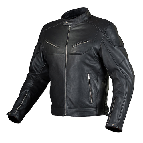 NORDCODE CAFE RACE BLACK JACKET LEATHER