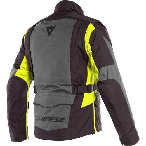 DAINESE X-TOURER D-DRY® EBONY/BLACK/FLUO-YELLOW JACKET WP 4-SEASON