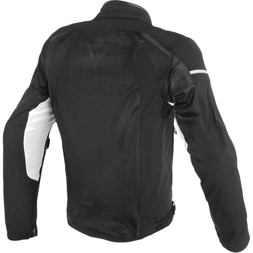 DAINESE AIR FRAME D1 TEX BLACK/BLACK/WHITE JACKET SUMMER WR