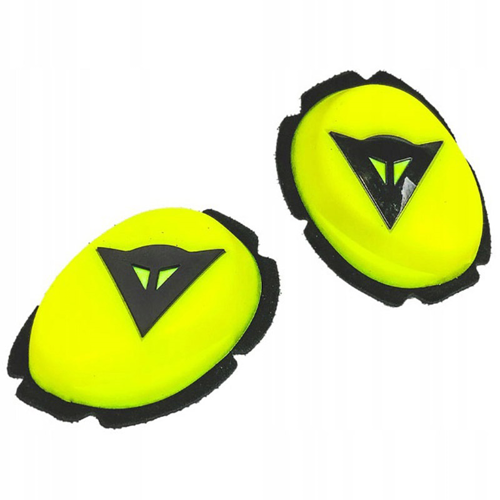 DAINESE PISTA KNEE SLIDERS FLUO-YELLOW/BLACK KNEE SLIDERS