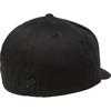 FOX FLEX 45 FLEXFIT BLACK HAT