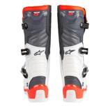 ALPINESTARS TECH 5 WHITE/GREY/RED BOOTS MX