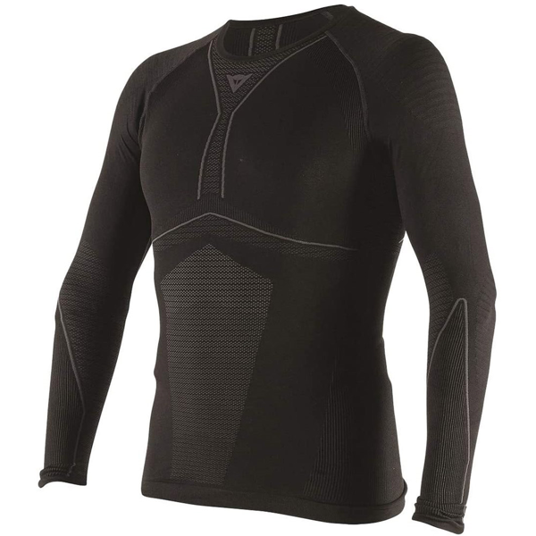 DAINESE D-CORE DRY TEE LS BLACK/ANTHRACITE THERMAL TEE LS