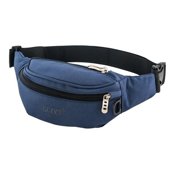 POLO 820 CORD BLUE WAIST BAG