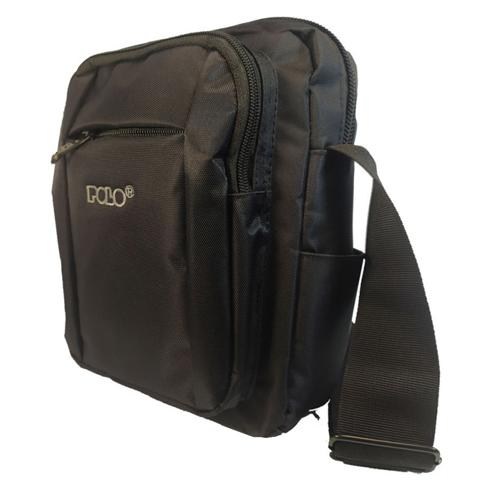 POLO CHARGER BLACK SHOULDER BAG