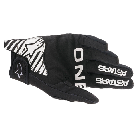 ALPINESTARS RADAR 2021 BLACK/WHITE GLOVES MX
