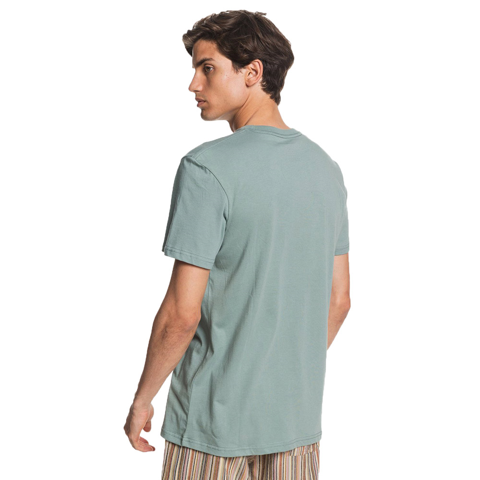 QUIKSILVER WORDS REMAIN CHINOIS GREEN TEE