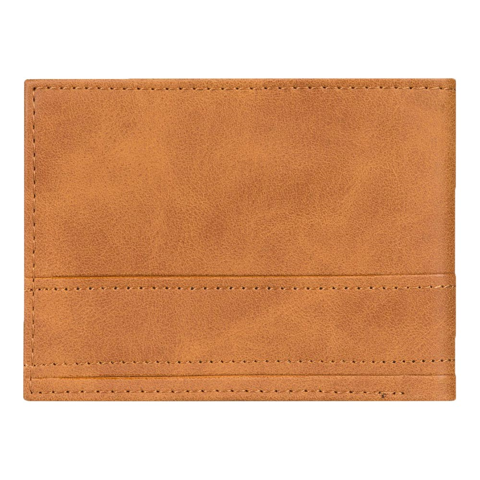 QUIKSILVER NEW STICHY TRI-FOLD BROWN WALLET
