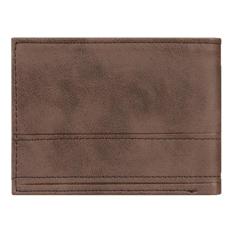 QUIKSILVER NEW STICHY TRI-FOLD CHOCOLATE BROWN WALLET