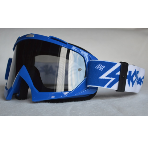 SHOT MX CREED BLUE/CLEAR GOGGLES MX