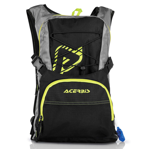 ACERBIS Η2Ο DRINK BACKPACK BLACK/YELLOW 10L BACKPACK