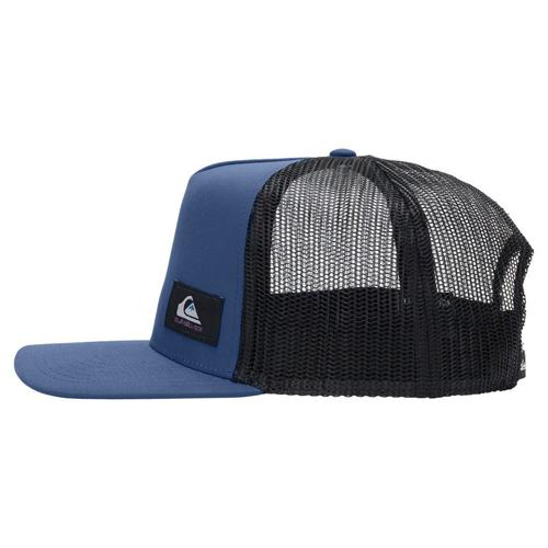 QUIKSILVER TECK BECKY TRUE NAVY HEATHER TRUCKER CAP HAT