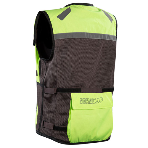 NORDCODE SAFETY VEST FLUO-YELLOW GILET
