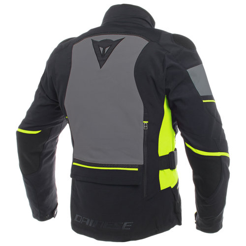 DAINESE CARVE MASTER 2 GORE-TEX BLACK/EBONY/FLUO-YELLOW JACKET WINTER WP GORE